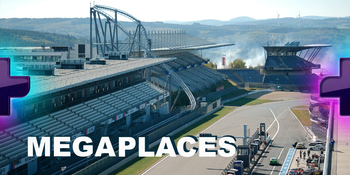 Mega Places in Germany 1. Nürburgring